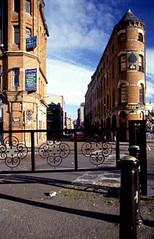 Belfast - East Bank: city centre townscape