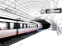 metro bilbao (ines valor) Tags: metro bilbao cascoviejo anden bestcapturesaoi