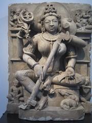 Hindu goddess (Baltimore Bob) Tags: india art asian asia goddess baltimore hindu waltersartmuseum