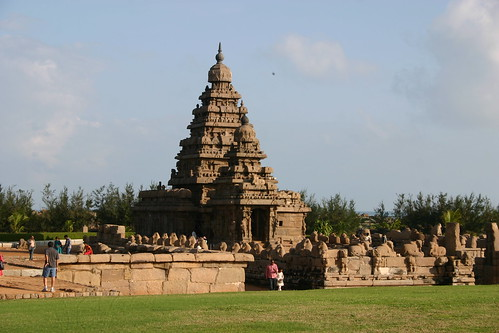 Mahabalipuram shore temple on diffrent angle