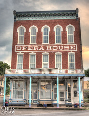 Catawissa Opera House - Exterior (Chris Adval) Tags: lighting chris light photoshop canon photography rebel shoot exterior natural pennsylvania indoors adobe inside 28 mm dslr mayhem productions xsi lightroom redring 2470 llens cs5 catawissa 28lens adval lightroom4 2470lredring