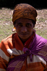 Tribal woman in Ooty