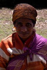 Tribal woman in Ooty