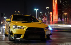 Evo (Robert DHJ) Tags: cars car mall photography japanese golden dubai uae automotive x modified custom mitsubishi spotting jap jdm evo japcars