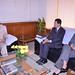 Meeting with V. Kishore Chandra Deo, Minister of Tribal Affairs and Panchayati Raj