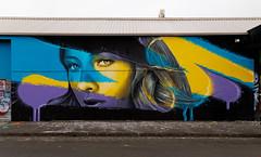 Rone & Wonderlust Brunswick 2013-12-18 (IMG_7162-4) (ajhaysom) Tags: streetart graffiti australia melbourne brunswick rone wonderlust