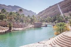 Wadi Bani Khalid - Oman (Bertrand Duperrin) Tags: oasis oman wadi wadibanikhalid