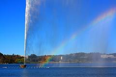 Up, up, and away (Canberra) (fotoeins) Tags: travel winter sky lake water canon geotagged eos rainbow australia canberra act xsi australiancapitalterritory lakeburleygriffin waterjet canonef50mmf14usm eos450d henrylee 450d captaincookmemorialjet fotoeins myrtw henrylflee fotoeinscom geo:lat=3529243892039792 geo:lon=14912838578224182