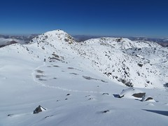 The summit crater of El Condor (6440m)