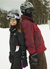 Cory and Ali (goalkeeper07) Tags: birthday christmas new family blue winter red vacation white mountain snow ski cold green bike bicycle yellow vintage bill rust colorado butte elizabeth 21 board helmet 21st skii snowboard years crested cory conner bolle shred kayce pulliam denkhaus