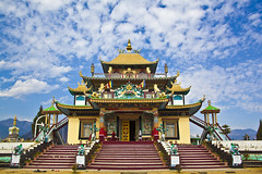 Chilipaam 2 (Arpan Kalita) Tags: sky india architecture clouds buddhism monestary arunachalpradesh monpa northeastindia kameng chilipaam