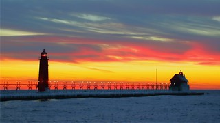 Grand Haven Sunset 5 (12 18 2013)