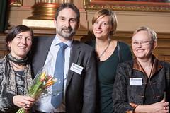 Annika von Schmalensée, Carl-Fredrik Reel, Britta Zaar Nyman och Lotta Magnusson från Socialstyrelsen, Bästa förbättrare, samt nominerad till Web Service Award 2013 i klassen Samhällskommunikation.