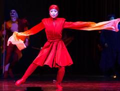 Cirque Du Soleil's Varekai (Haddadios) Tags: red ontario canada silhouette ed soleil newspaper nikon university hamilton du ii coliseum nikkor cirque vr mcmaster d800 varekai 70200mm copps f28g