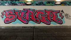 Graffiti Overschie (oerendhard1) Tags: graffiti streetart urban art tunneltje overschie rotterdam shc surgh surch