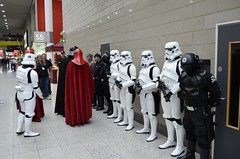 MCM Comic con 2013 @ Excel, London: Star Wars Empire Cosplays (SpirosK photography) Tags: uk england london starwars costume cosplay unitedkingdom stormtroopers empire darthvader excel costumeplay excellondon 2013 excelcenter   cosplayevent imperialarmy mcmcomiccon mcmcomicconlondon