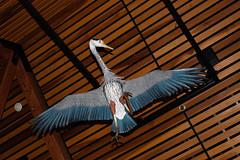 Great Blue Heron (Ardea herodias) sculpture by Dan McQueston (RosettaStones) Tags: sculpture usa art water birds vancouver washington education herons outdooreducation vancouverwa waterresources vancouverwaterresourcescenter