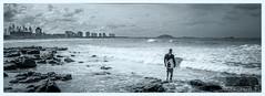 Entering the Bluff (Crew One Photography) Tags: panorama beach monochrome pentax sigma sunshinecoast k3 sigma1020mmf35 pentaxart alexanderheads silverefexpro2