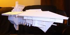 Devil's Claw Hades Class Heavy Cruiser (kevin dancey) Tags: gothic 40k warhammer starship battlefleer