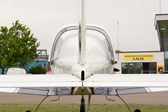 I-6814 (dacrivelli) Tags: light white sport airplane aircraft tail tecnam p96