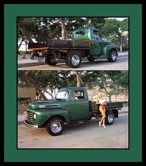 """'48 Ford Show Truck, 1989 (Cosmo's """"ART"""" Gallery) Tags: ford 1948 truck pickup babe 1989 customcar showcar"""