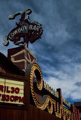 Jackson Wyoming  April 2015. Leica M3 with 1956 ltm Summicron, Fujichrome 50 (adamnsinger) Tags: leica bar cowboy jackson summicron 1956 wyoming m3