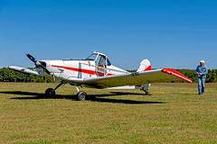 N6112Z 1960 PIPER PA-25 PAWNEE -   VSA 1 (massey_aero) Tags: vintagesailplaneassoc sailplane glider vsarally pa25 pawneepiper piperpawnee glidertowplane masseyaerodrome masseyairmuseum vsarallyatmassey