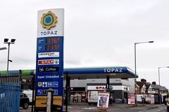 Topaz, Moor Park Belfast Northern Ireland. (EYBusman) Tags: topaz petrol gas gasoline filling service station garage moor park belfast northern ireland texaco a1 eybusman