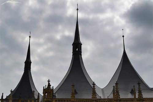 Chrám Svaté Barbory - Barborská -Kutná Hora- (2)