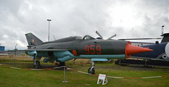 """Mikoyan-Gurevich MiG-21SPS """"Fishbed"""" - 959 (lcfcian1) Tags: coventry airport midland air museum midlandairmuseum coventryairport aviation display planes airplane aircraft mikoyangurevich mig21sps fishbed 959 mikoyangurevichmig21spsfishbed959"""
