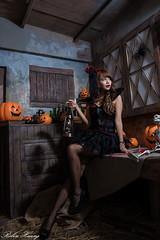 DSC_7378 (Robin Huang 35) Tags: 孫卉彤 candy miruna萬聖風 小惡魔 吸血鬼 vampire 萬聖節 halloween 棚拍 lady girl d810 nikon devil