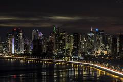 Panama City, Panama (Bernai Velarde-Light Seeker) Tags: panama city apartment buildings night noche apartamentos edificios bernai velarde central centro america pacific pacifico ocean oceano mar sea