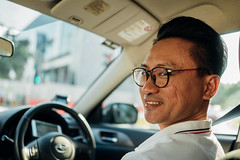 Happy Uber Driver: Woei Tang, Singapore (Premshree Pillai) Tags: singapore singaporeaug16 summer summer2016 woeitang uber uberdriver uberportraits