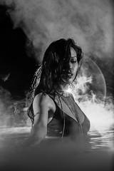 Pandora (KL.Domino.Bray) Tags: domino mode portrait beautiful bikini darkwater darkwaters female gellights green implied night pool tattoo water woman doraville georgia unitedstates us