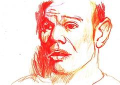 PROYECTO 132-123 (GARGABLE) Tags: angelbeltrn apuntes sketch madrid gargable 132 portrait retrato proyecto 122 123 124