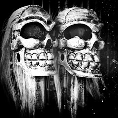 The Last Laughs (Dom Guillochon) Tags: time life humans existence reality dream dead last laughs noiretblanc