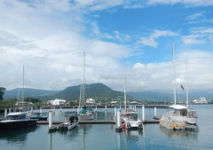 Wealthy Visitors (mikecogh) Tags: apia samoa marina boats wealth yachts mtvaea