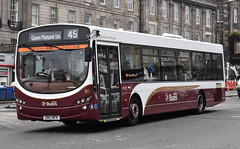 Lothian Buses 185: SN13BFK (Cobalt271) Tags: lothian buses 185 sn13bfk volvo b7rle wright eclipse 2 madder livery