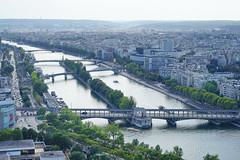 Paris Eiffel Tower 12.9.2016 3806 (orangevolvobusdriver4u) Tags: fluss river seine 2016 archiv2016 france frankreich paris eiffel turm eiffelturm tower eiffeltower tour toureiffel