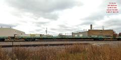MP 1839mw Flat (Milwaukee beerNut) Tags: up wi racine cnw 605 mow maintenance trackwork relay