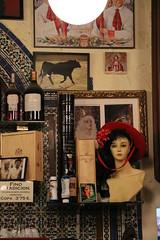 Dancer in a pub (xiaolifra) Tags: shadow siviglia walking espana spain lights chance portraits picoftheday photo moment time bridge amazing colorful dark blackwhite black simply emotions