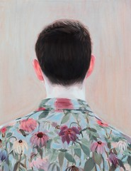 Kris Knight — Wilted Floral, 2014. Painting: oil on canvas. Male Portraits 2014 Art (ArtAppreciated) Tags: fineart painting blogs tumblr artblogs artappreciated artoftheday artofdarkness artofdarknessco artofdarknessblog 2014 art date2014 mens fashion kris knight male portraits portraiture figurative contemporary realism surrealism surreal canadian artists 2010s boy man