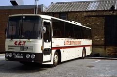 B0938D Excelsior DT BLJ726Y depot 9 Aug 83 (Dave58282) Tags: bus dt excelsior blj726y daf sb2005 jonckheere bermuda