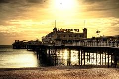 Brighton Pier, Brighton, Sussex, England (michaelasss) Tags: brighton pier brightonbeach seaside ocean sand seagulls amusements english beach
