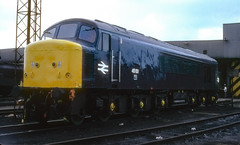 British Railways Class 4 - 45101 (dgh2222) Tags: peak class 451 45101 toton mpd nottinghamshire blue livery br 1980s