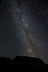 The beauty of the milkyway with a shooting star (blackmountainphotos) Tags: night sky milkyway star stars shootingstar meteorite longexposure switzerland lucerne luzern nature