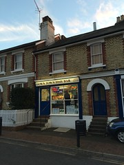 Downtown (My photos live here) Tags: downtown fish and chips chip shop fast foord retail house building light steps food royal tunbridge wells kent little mount sion village