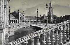 Plaza de Espana, Sevilla, Andalucia, Espana (claude lina) Tags: claudelina espana spain espagne andalucia andalousie city town ville architecture sevilla sville plazadeespana place plaza placedespagne