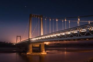 La traversée du pont de Varades