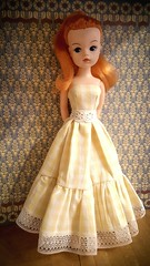 New dress for Sindy 💛 (Dolliina) Tags: sindy doll vintage